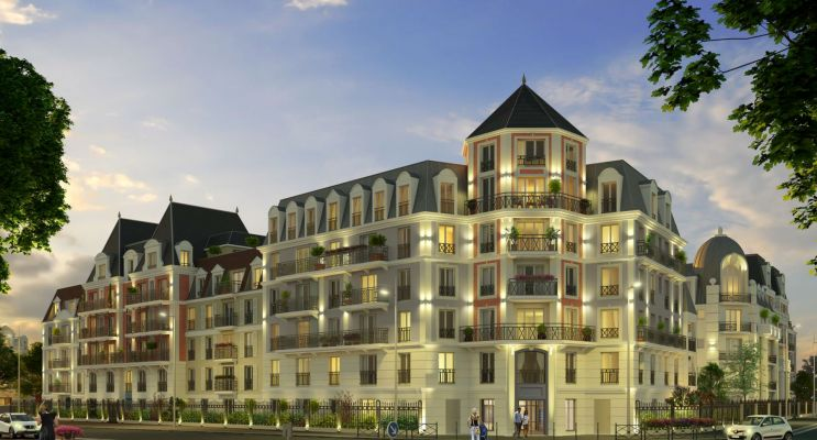 Photo n°2 du Résidence « Le Castelin » programme immobilier neuf en Loi Pinel à Le Blanc-Mesnil