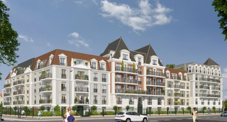 Photo n°3 du Résidence « Le Castelin » programme immobilier neuf en Loi Pinel à Le Blanc-Mesnil