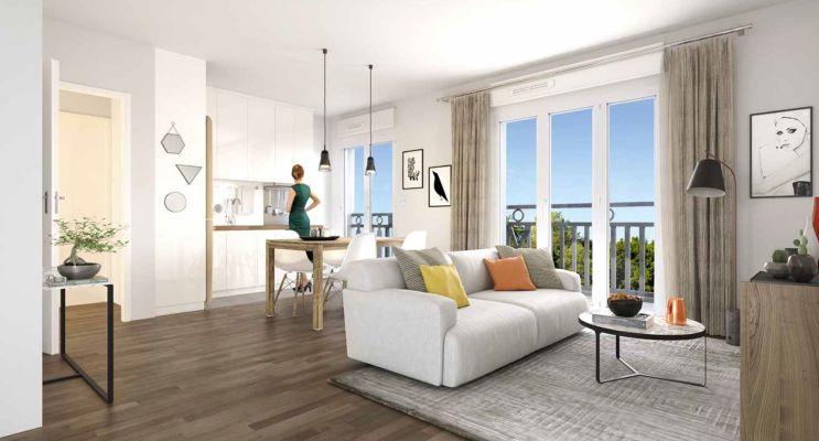 Photo n°5 du Résidence « Le Castelin » programme immobilier neuf en Loi Pinel à Le Blanc-Mesnil