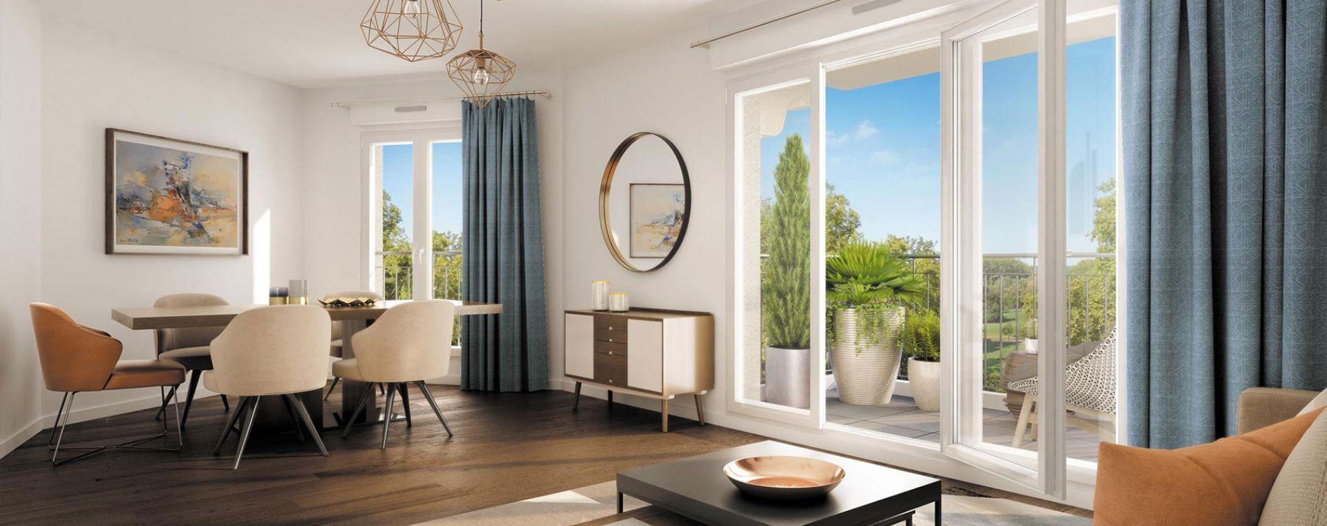 Le Blanc-Mesnil programme immobilier neuve « Le Chemin de Saint Jacques »  (2)
