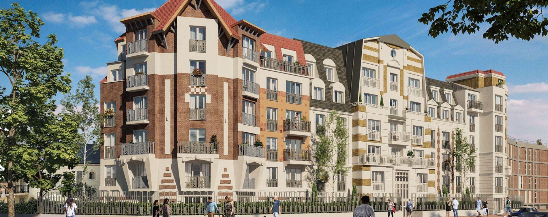 Le Blanc-Mesnil : programme immobilier neuve « Le Domaine du Mesnil » en Loi Pinel