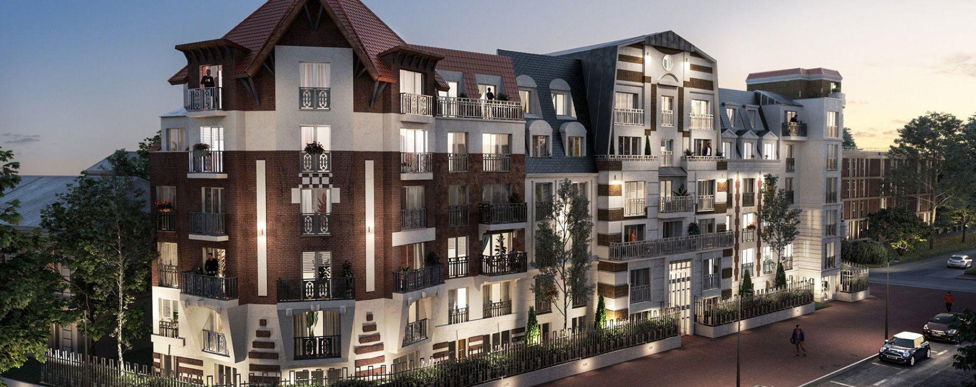 Le Blanc-Mesnil : programme immobilier neuve « Le Domaine du Mesnil » en Loi Pinel (3)