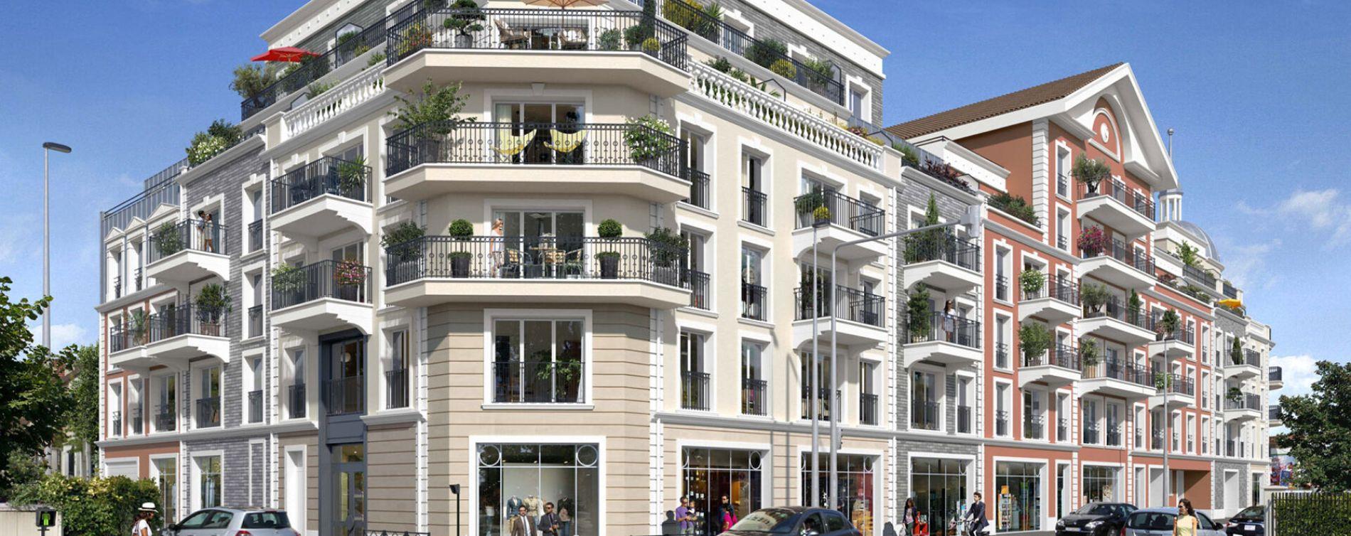 Le Blanc-Mesnil : programme immobilier neuve « Programme immobilier n°218736 » en Loi Pinel