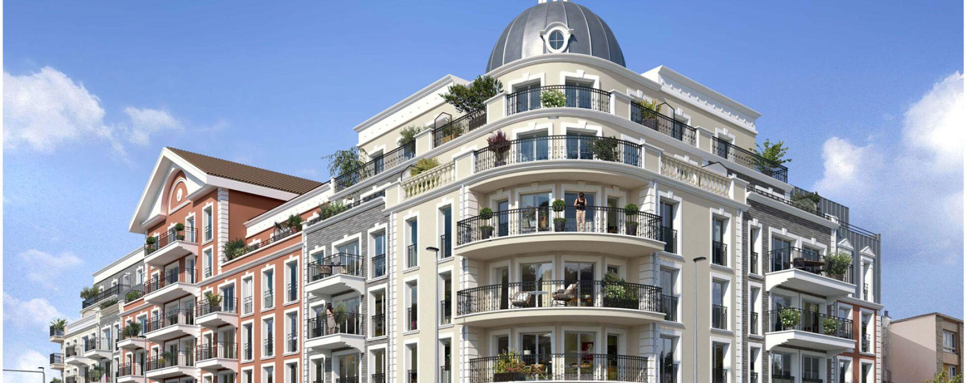 Le Blanc-Mesnil : programme immobilier neuve « Programme immobilier n°218736 » en Loi Pinel (2)