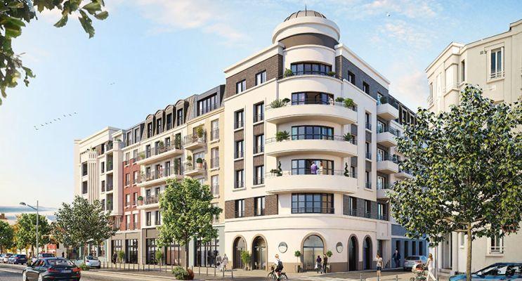 Résidence « L'Oiseau Blanc » programme immobilier neuf en Loi Pinel à Le Blanc-Mesnil n°1