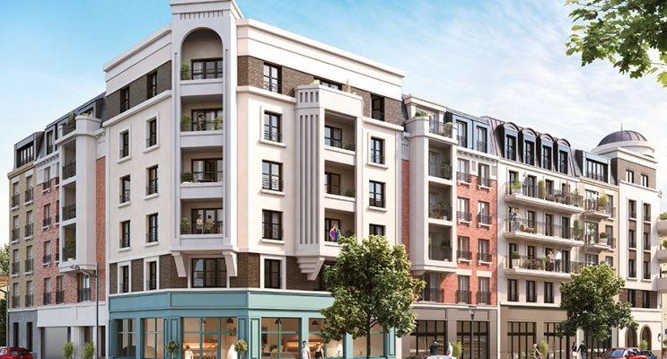 Résidence « L'Oiseau Blanc » programme immobilier neuf en Loi Pinel à Le Blanc-Mesnil n°2