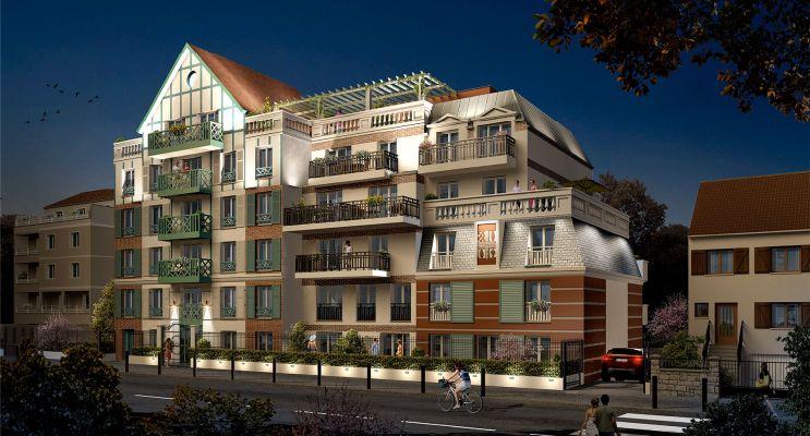 Résidence « Résidence Du Gué Du Coudray » programme immobilier neuf en Loi Pinel à Le Blanc-Mesnil n°1
