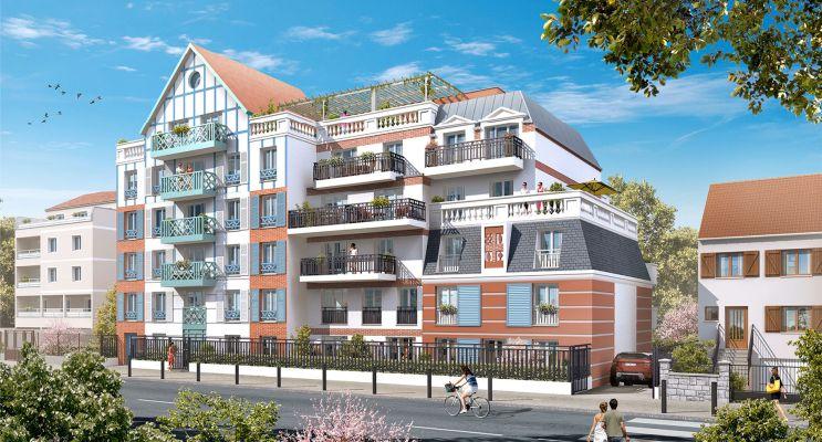 Photo n°2 du Résidence « Résidence Du Gué Du Coudray » programme immobilier neuf en Loi Pinel à Le Blanc-Mesnil