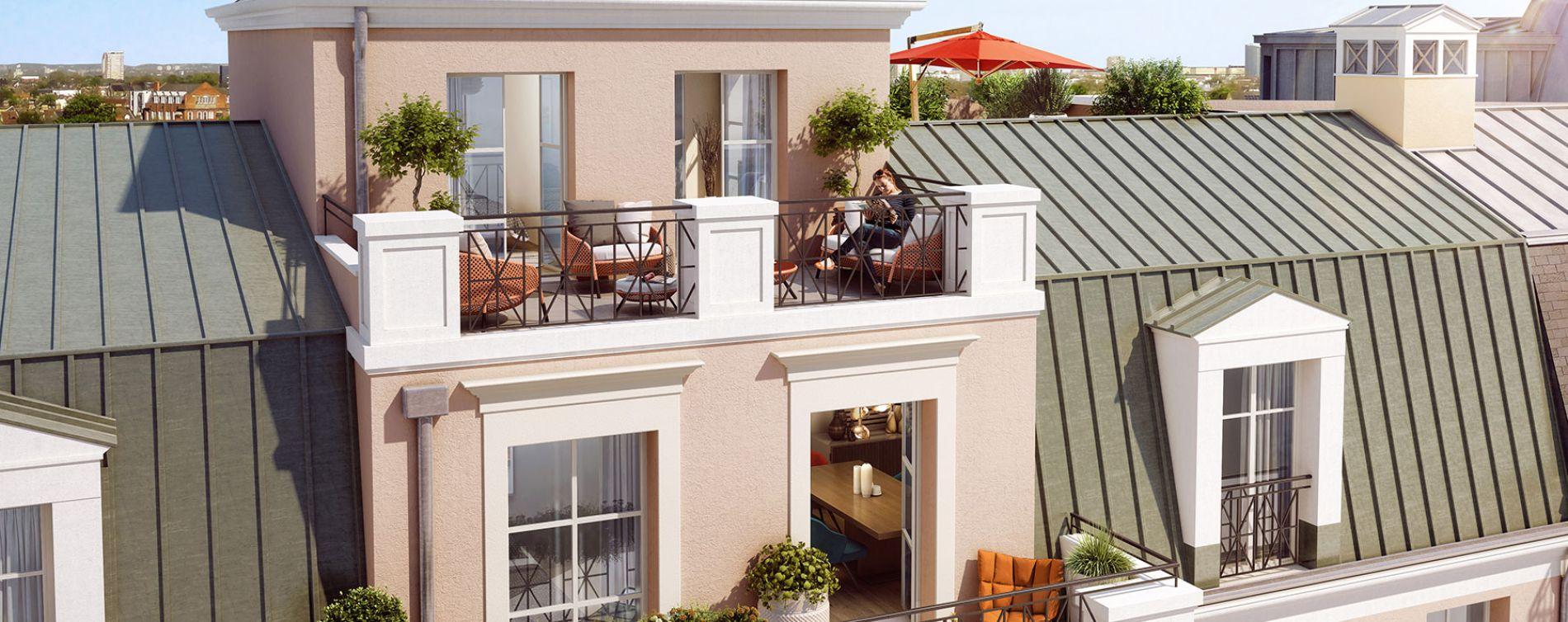 Le Blanc-Mesnil : programme immobilier neuve « Speedbird » (3)