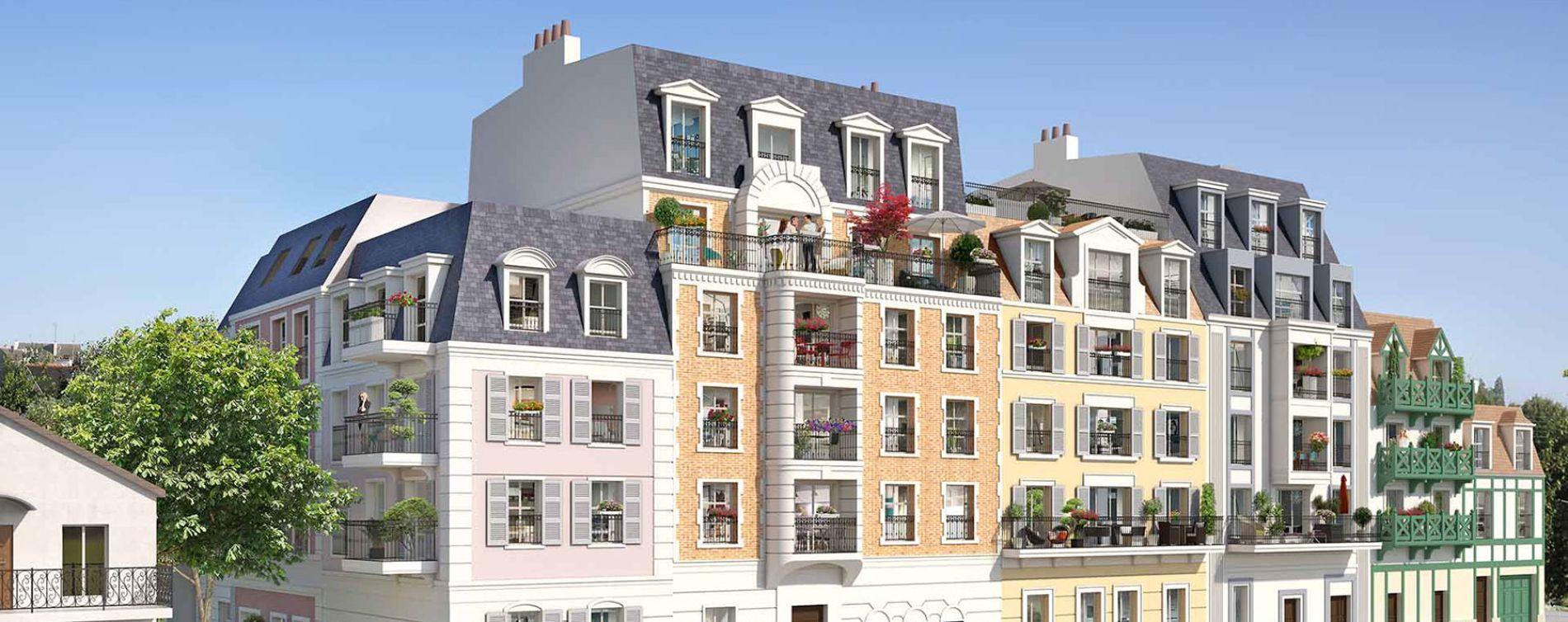 Le Blanc-Mesnil : programme immobilier neuve « Villa Beau Site »