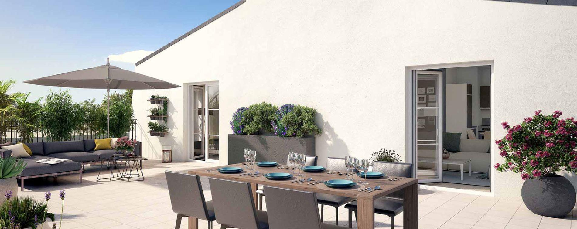 Le Blanc-Mesnil : programme immobilier neuve « Villa Beau Site » (2)