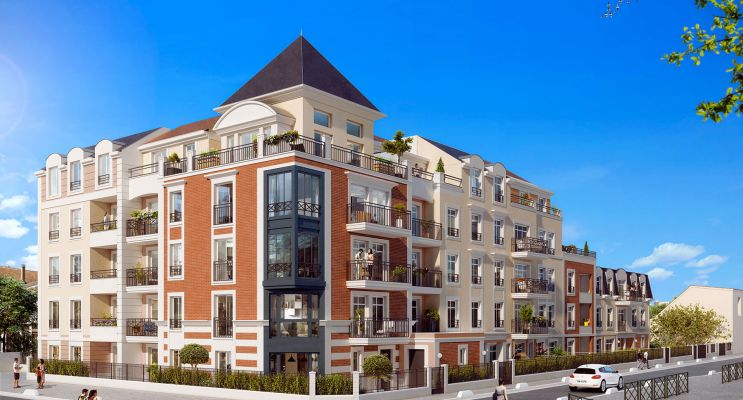 Photo du Résidence « Villa d'Alembert » programme immobilier neuf en Loi Pinel à Le Blanc-Mesnil