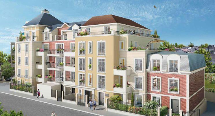 Photo du Résidence « Villa de Traversay » programme immobilier neuf à Le Blanc-Mesnil