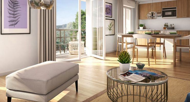 Résidence « Villa De Traversay » programme immobilier neuf en Loi Pinel à Le Blanc-Mesnil n°2