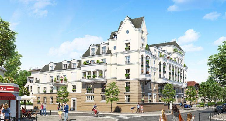 Photo du Résidence « Villa des Frênes » programme immobilier neuf à Le Blanc-Mesnil