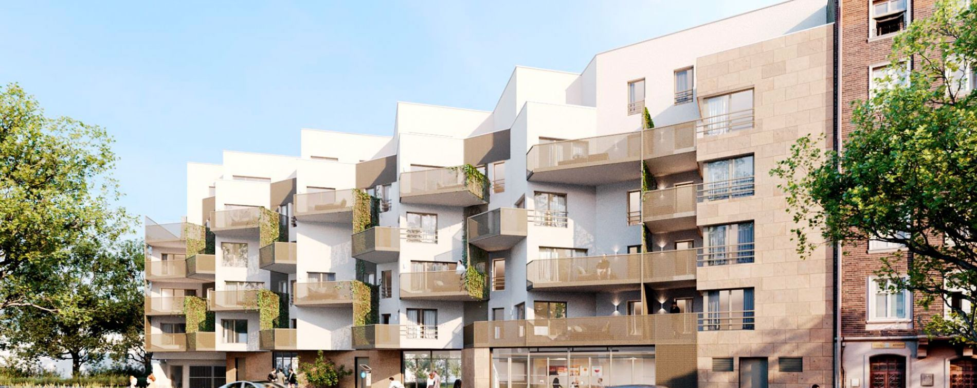 Le Bourget : programme immobilier neuve « L'Esprit B. » en Loi Pinel
