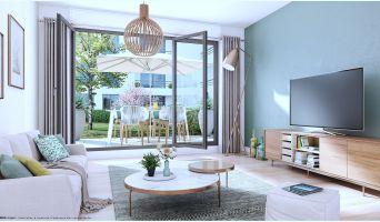 Les Lilas programme immobilier neuve « Fleur de Ville »  (2)