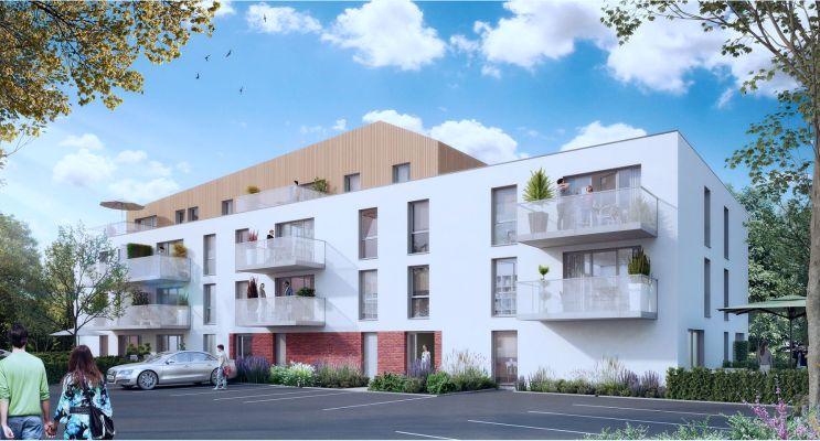 Photo du Résidence « Fleur de Ville » programme immobilier neuf en Loi Pinel à Les Lilas