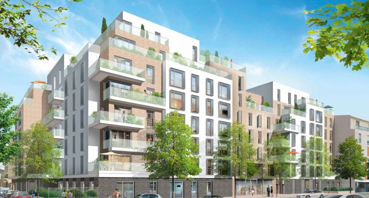 Résidence « Entres Parenthèses » programme immobilier neuf en Loi Pinel à Les Pavillons-sous-Bois n°1