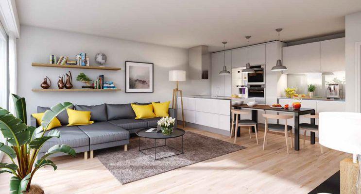 Résidence « Entres Parenthèses » programme immobilier neuf en Loi Pinel à Les Pavillons-sous-Bois n°3