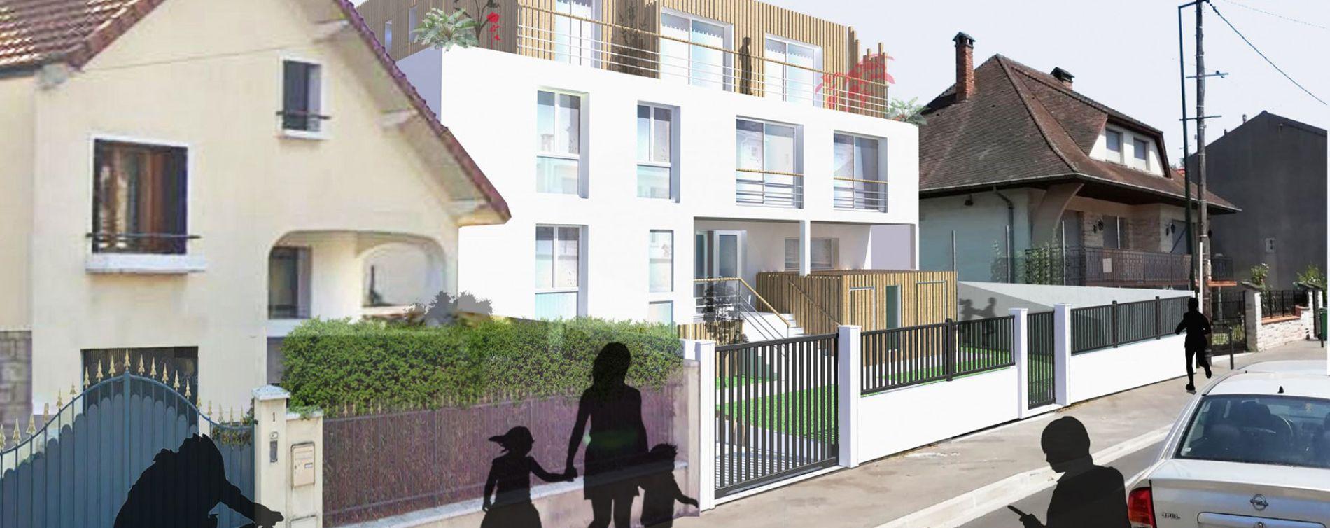 Les Pavillons-sous-Bois : programme immobilier neuve « Résidence Cataleya »