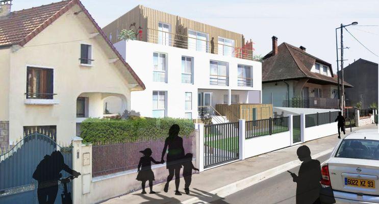 Photo du Résidence « Résidence Cataleya » programme immobilier neuf en Loi Pinel à Les Pavillons-sous-Bois