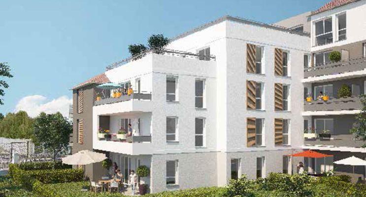 Résidence « Carré Aubépines » programme immobilier neuf en Loi Pinel à Livry-Gargan n°2