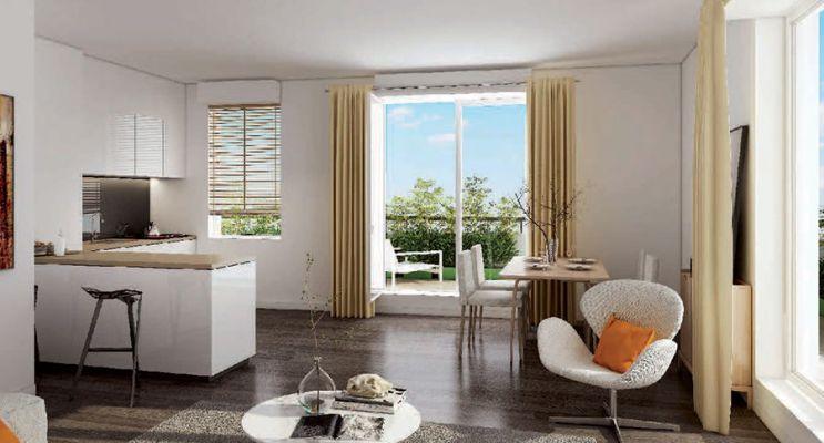 Résidence « Carré Aubépines » programme immobilier neuf en Loi Pinel à Livry-Gargan n°3