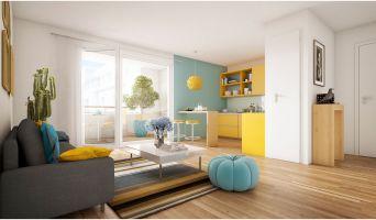 Résidence « Coeur Livry » programme immobilier neuf en Loi Pinel à Livry-Gargan