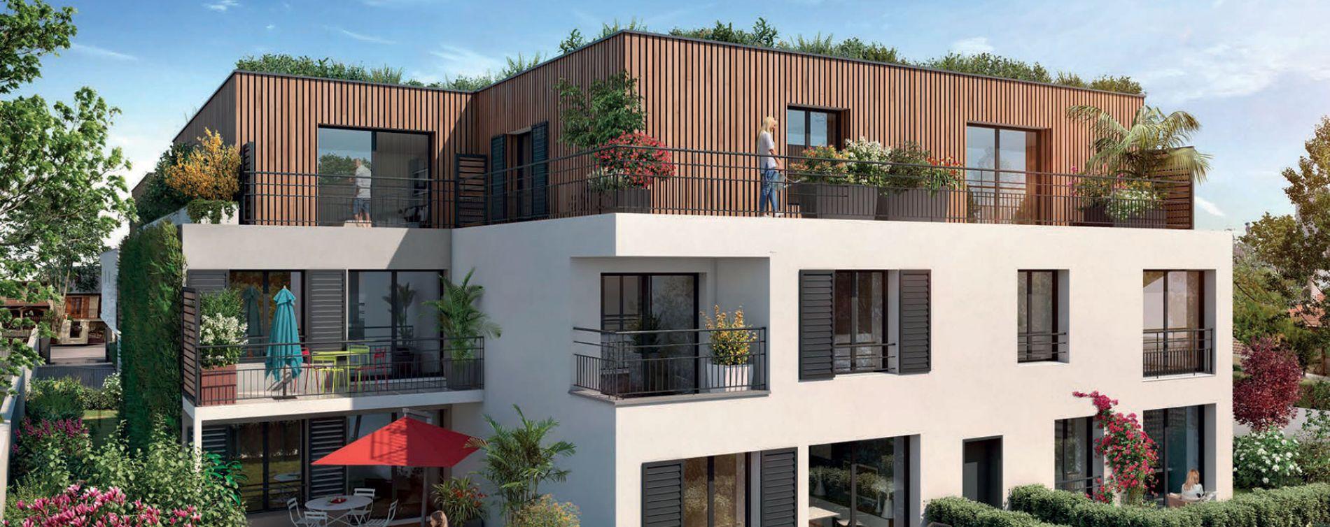 Livry-Gargan : programme immobilier neuve « Green Harmony » en Loi Pinel (2)