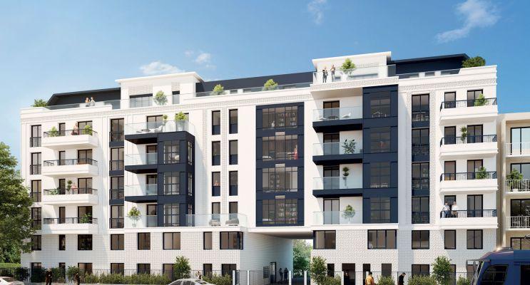 Livry-Gargan programme immobilier neuf « L'Atelier » en Loi Pinel