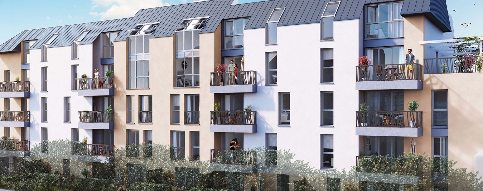 Villa quesnay livry gargan programme immobilier neuf n 213773 - Cabinet immobilier st denis ...