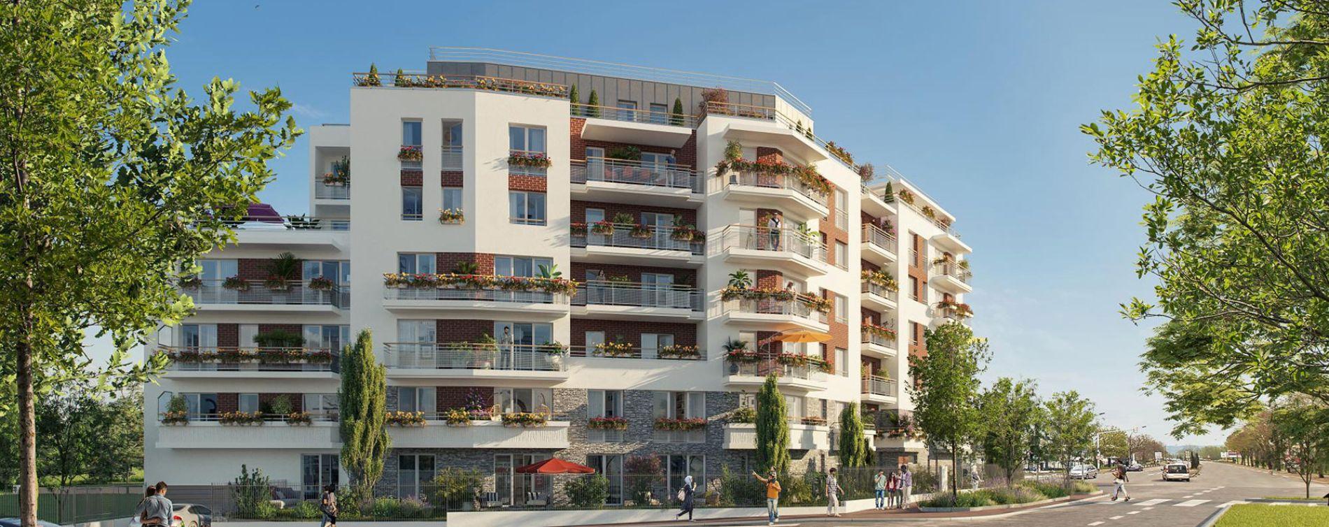 Livry-Gargan : programme immobilier neuve « Vue Ciel » en Loi Pinel