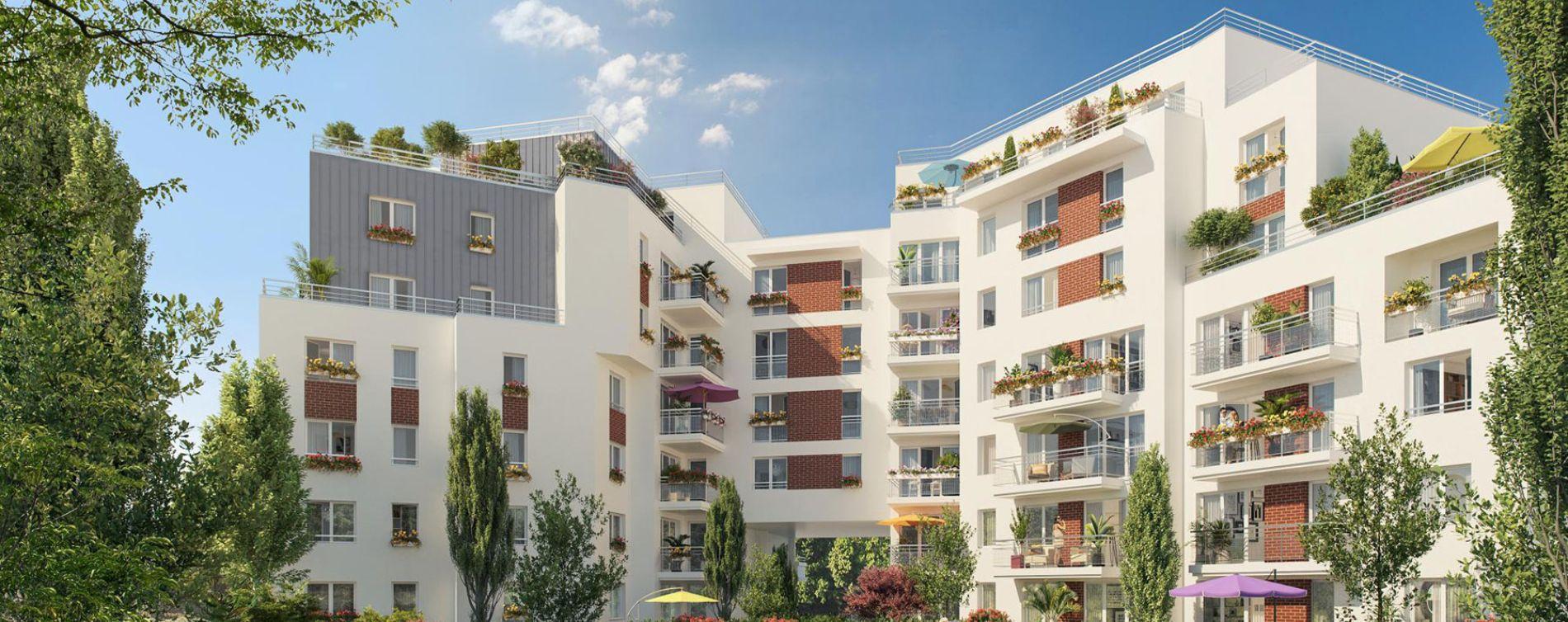 Livry-Gargan : programme immobilier neuve « Vue Ciel » en Loi Pinel (2)