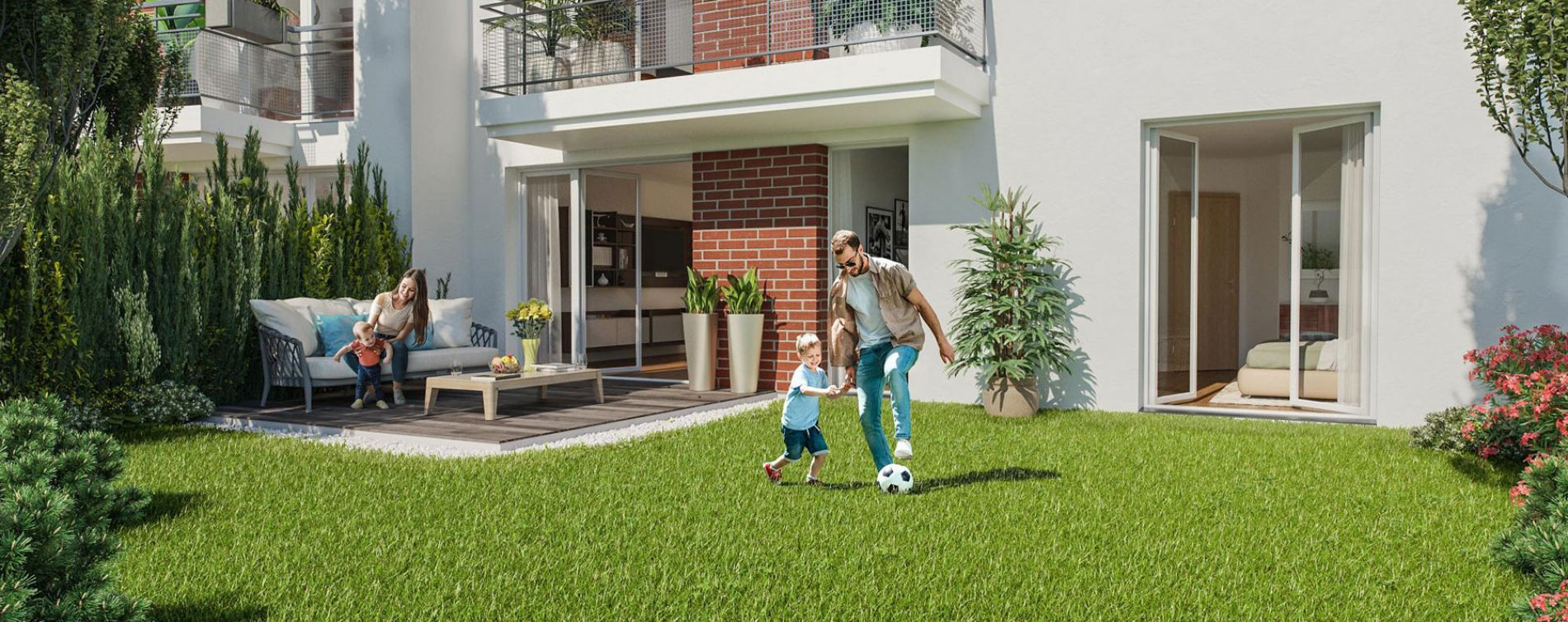Livry-Gargan : programme immobilier neuve « Vue Ciel » en Loi Pinel (3)