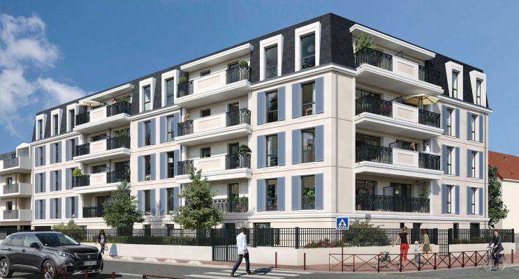 Montfermeil : programme immobilier neuf « Équation » en Loi Pinel