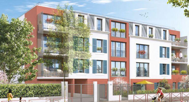 Résidence « La Résidence Des Vignes » programme immobilier neuf en Loi Pinel à Montfermeil n°1
