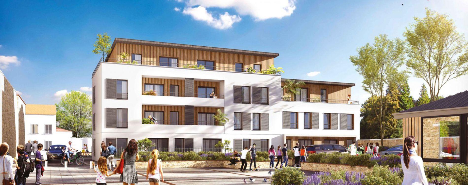 Montfermeil : programme immobilier neuve « L'Allée des Lettres » en Loi Pinel