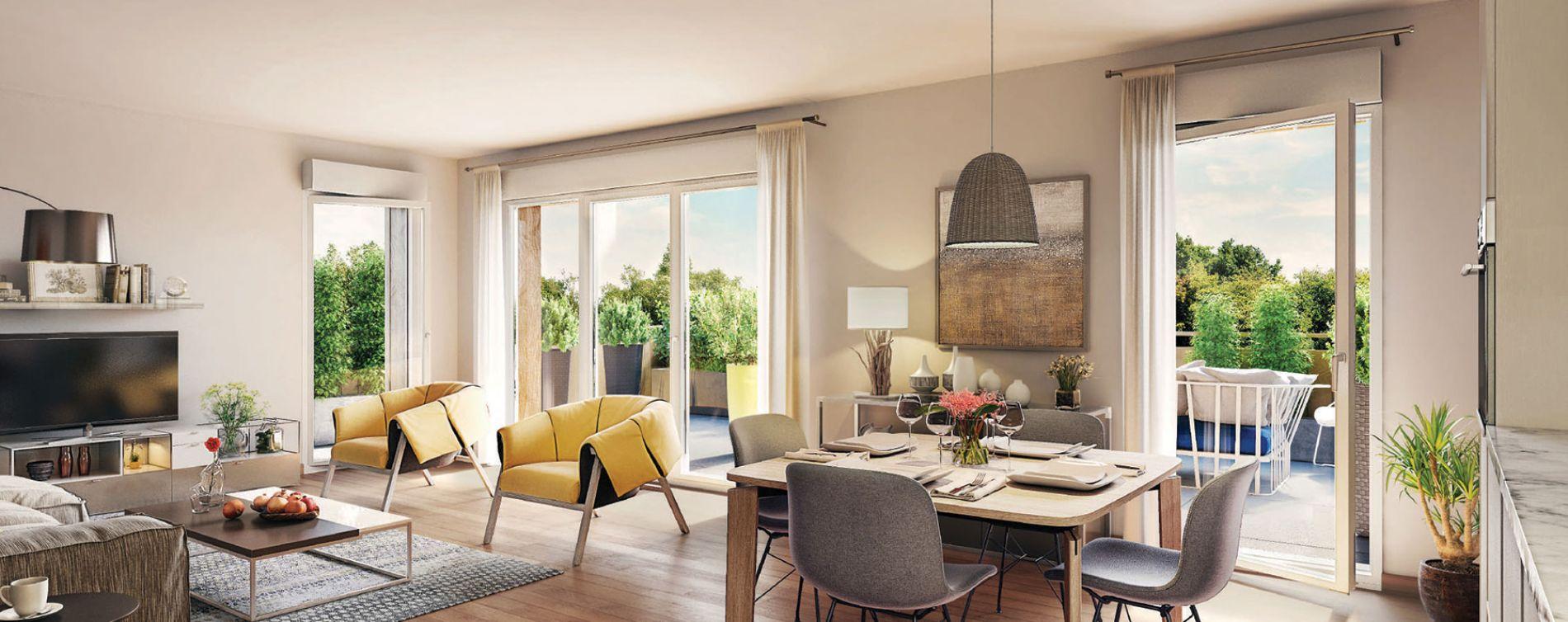 Montfermeil : programme immobilier neuve « L'Allée des Lettres » en Loi Pinel (3)