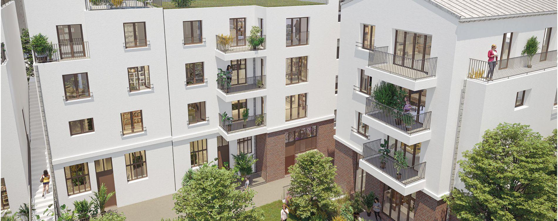 Montreuil : programme immobilier neuve « Oxygène »