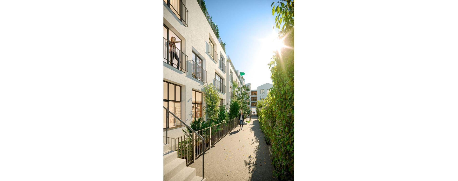 Montreuil : programme immobilier neuve « Oxygène » (2)