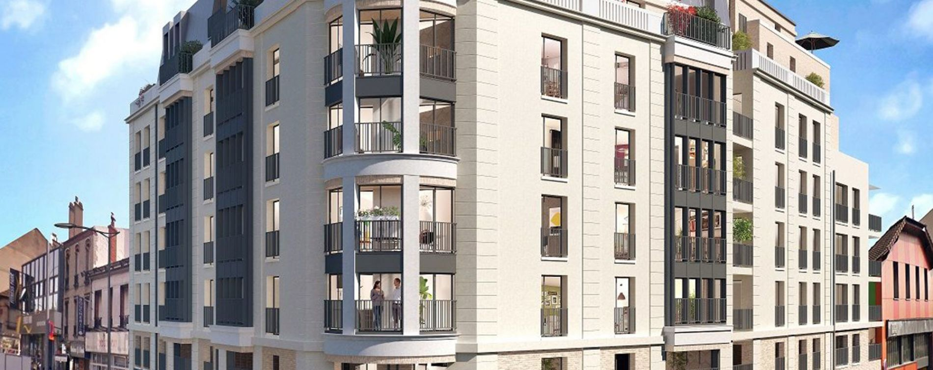 Neuilly-Plaisance : programme immobilier neuve « Éminence »