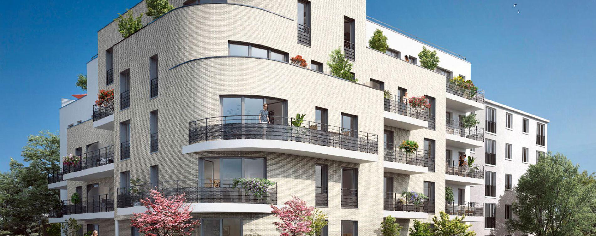 Neuilly-Plaisance : programme immobilier neuve « Villa des Poètes »