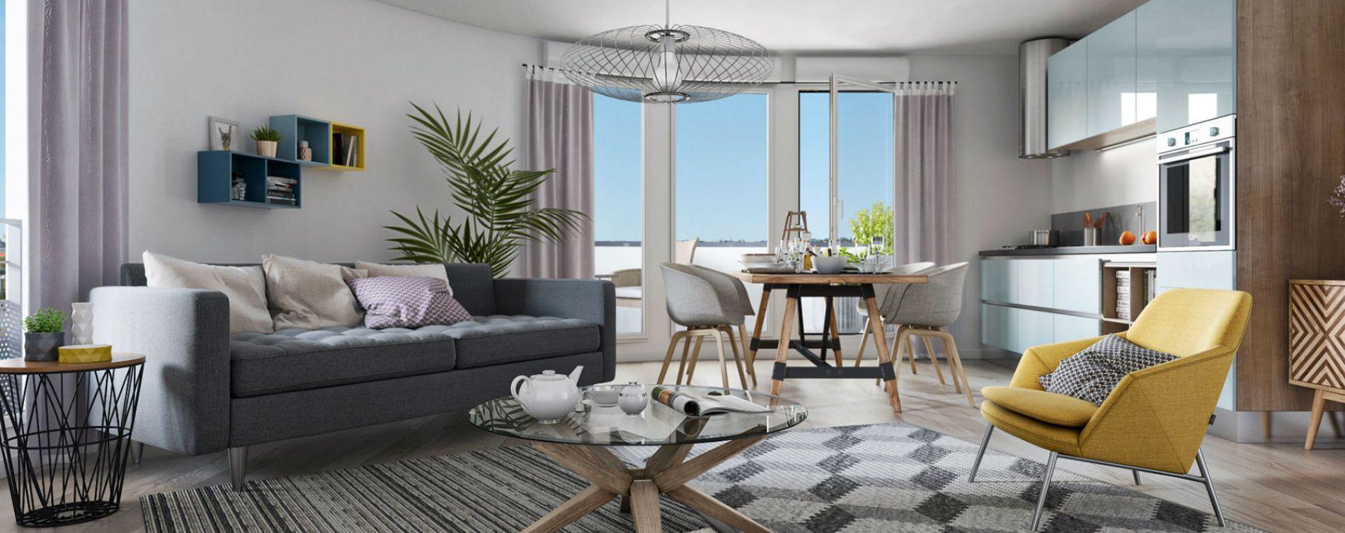 Neuilly-Plaisance : programme immobilier neuve « Villa des Poètes » (2)