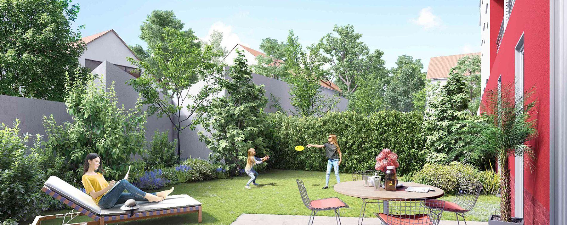 Neuilly-sur-Marne : programme immobilier neuve « Côté Jardin »