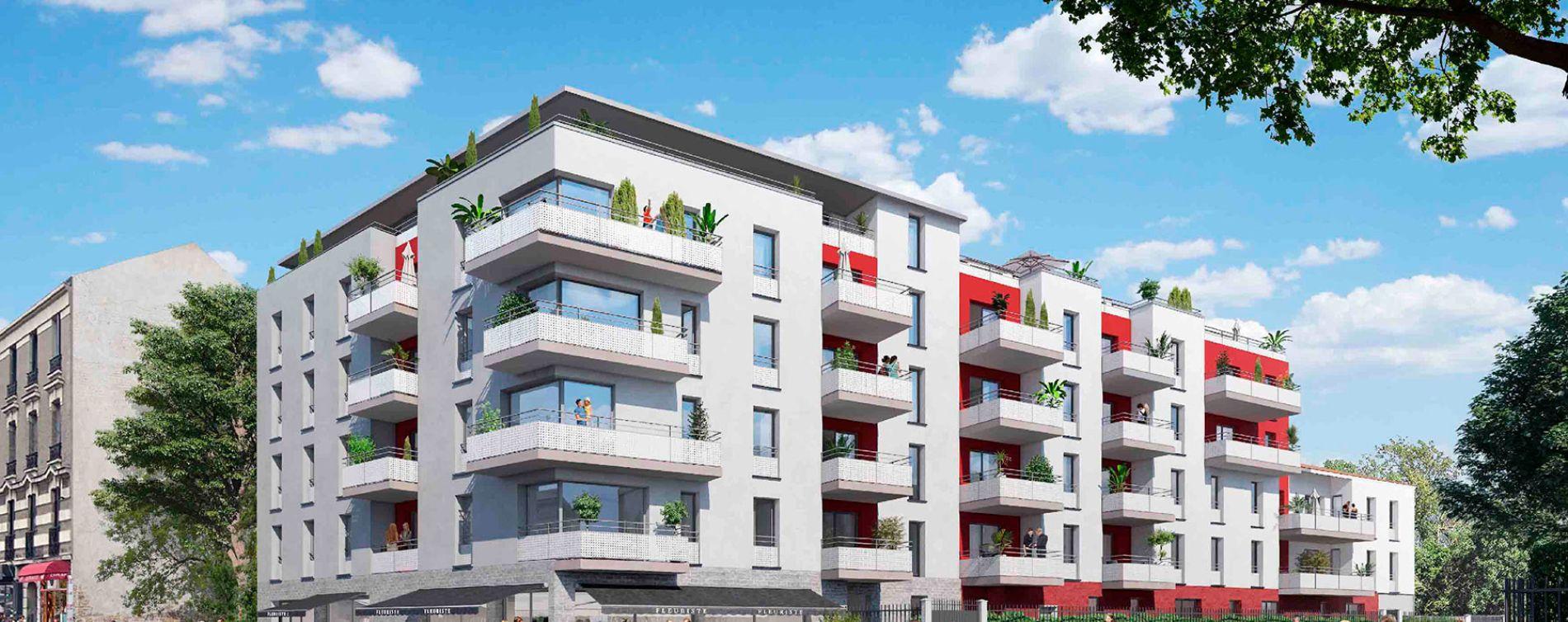 Neuilly-sur-Marne : programme immobilier neuve « Côté Jardin » (2)