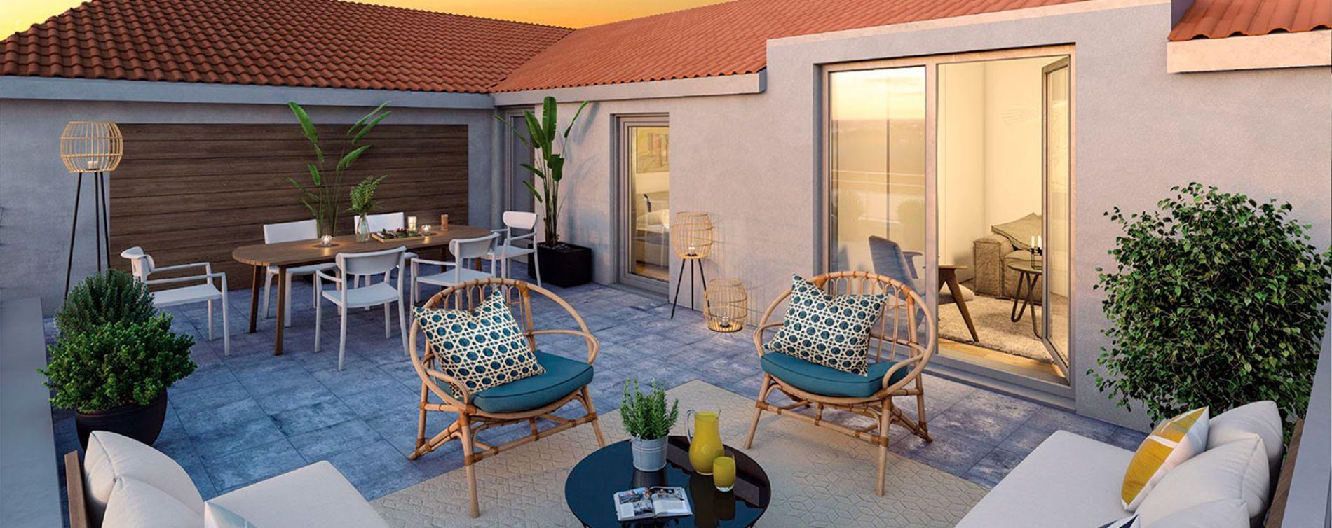 Neuilly-sur-Marne : programme immobilier neuve « Côté Jardin » (3)