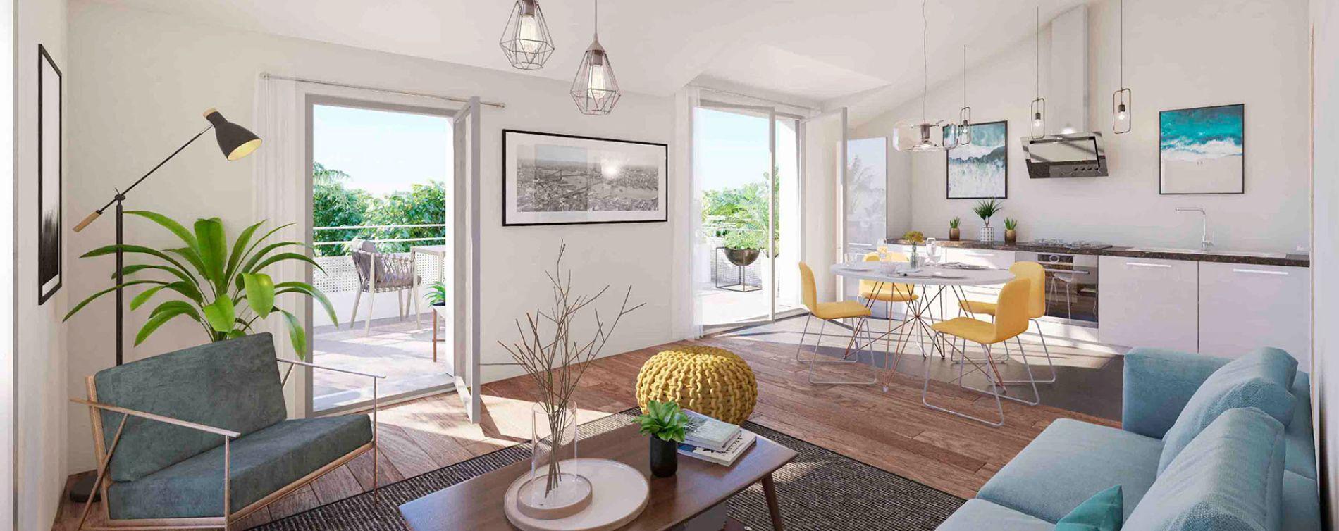 Neuilly-sur-Marne : programme immobilier neuve « Côté Jardin » (4)