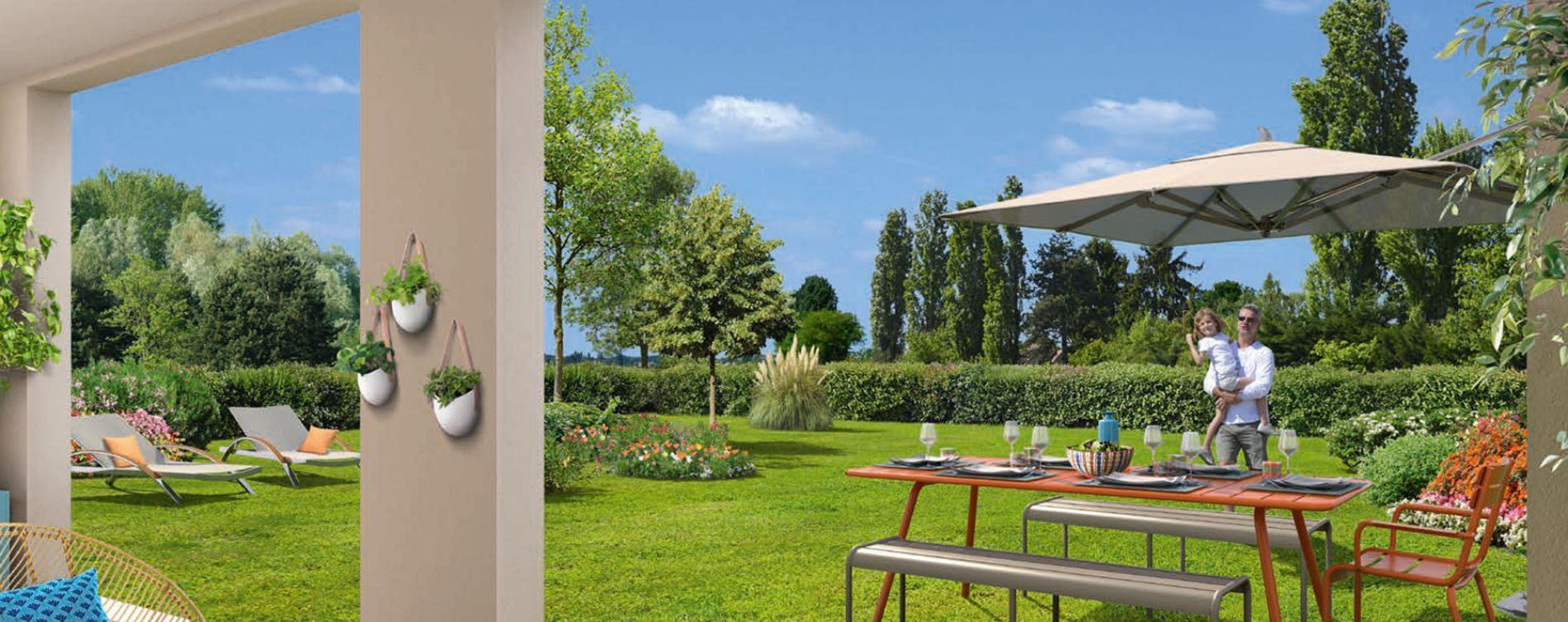 Résidence Les Apparts – Côté Jardin à Neuilly-sur-Marne