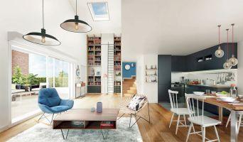 Résidence « Les Apparts - Côté Sud » programme immobilier neuf en Loi Pinel à Neuilly-sur-Marne n°1